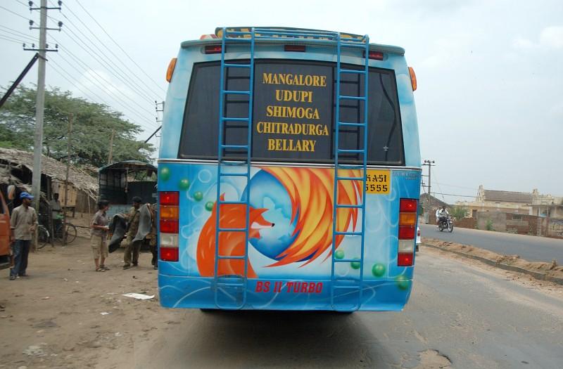 >Firefox バス