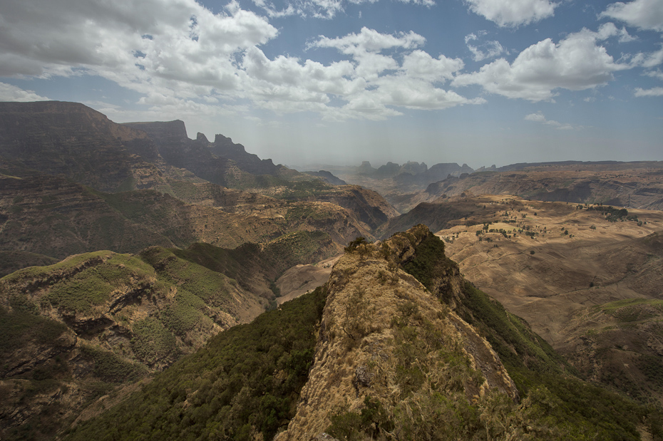 The Ethiopian Highlands –Simien Mountains.